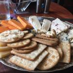 1/2 an order of 'Cheese Plate for 2'. Still to much.