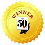Top 50 rosette