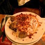 Spaghetti, boulettes de viande