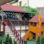 yard + playground