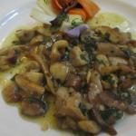 Mixed mushrooms sautéed in garlic, parsley & white wine