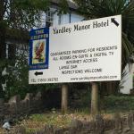 Foto de Yardley Manor Hotel
