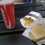 Toast og Pomfritter i Kbh ZOO.