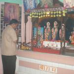 Lord Rama temple in hotel premise