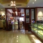 Entrée du restaurant via l'hôtel Shangri-La
