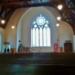 Interior of St. John's Methodist Church