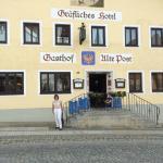 Restaurant mit Biergarten