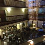 View from second floor, atrium