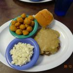 Country Fried Steak at Miss Maude's Cafe in Benson, NC
