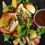 Delicious Apple Pecan Grilled Chicken Salad!
