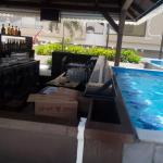 Pool and the bar