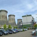 Energiecentrale in de stad