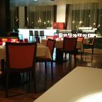 Seating Area at Spices in the JW Marriott Mumbai