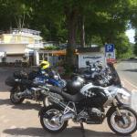 Tussenstop voor Café und Kuche!