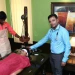 Shiro Dhara Therapy at Sowkhya Ayurveda Speciality Clinic