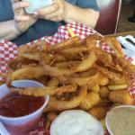 Deep Fried Appetizer Platter