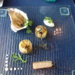 Huîtres Gilardeau en gelée Dashi