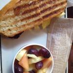 Panini breakfast combo