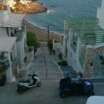 View from our terrace, morning  (apartment Hara, 6 people)
