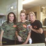 Our wonderful waitresses