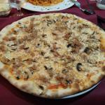 Pizza tonno e funghi