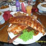 Huge rack of ribs!