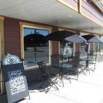 Enjoy the warm weather at our new outdoor patio!!