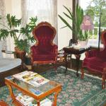 Living room with lovely antiques