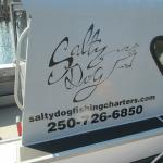 The Salty Dog logo and information