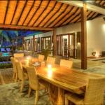 Living room of 4-bedroom villa