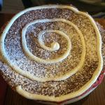 Red velvet pancake!