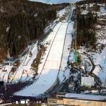 Ski Flying hill in Vikersund