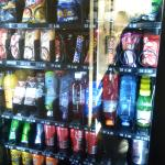 by the pool area there is a vending machine that was offering very reasonably priced drinks and