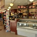 Interior of Graeter's on Fountain Square, downtown Cincinnati.