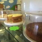 Lovely food in the cafe @ the bee centre