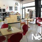 Our spacious cafe