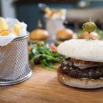 hand presed gourmet burger