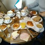 Breakfast for four people :)