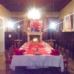 Cena con tavolo Reale.