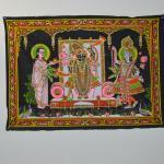 Left to right, Mahaprabhuji, Shrinathji, Yamunaji