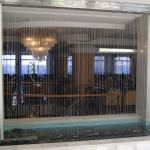 Ei Wasservorhang im Foyer des Hotel