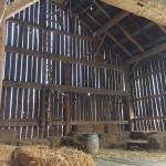 The barn where summer Barn Dances are held