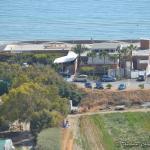 Chris Blue Beach - most modern and most expensive restaurant at Curium Beach.