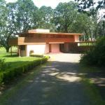 The Gordon House entrance