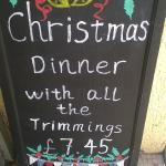 Christmas dinner - in May!