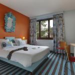 Vue d'une chambre - Hôtel Vaillant Sélestat