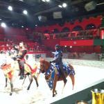 Lots of action at Arabian Nights