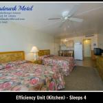 Efficiency Room - Sleeps 4