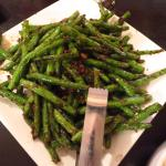 Fried string beans