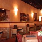 Interior dining areas.